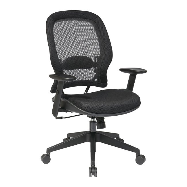 Office Star AirGrid Back and Mesh Seat Managers Chair