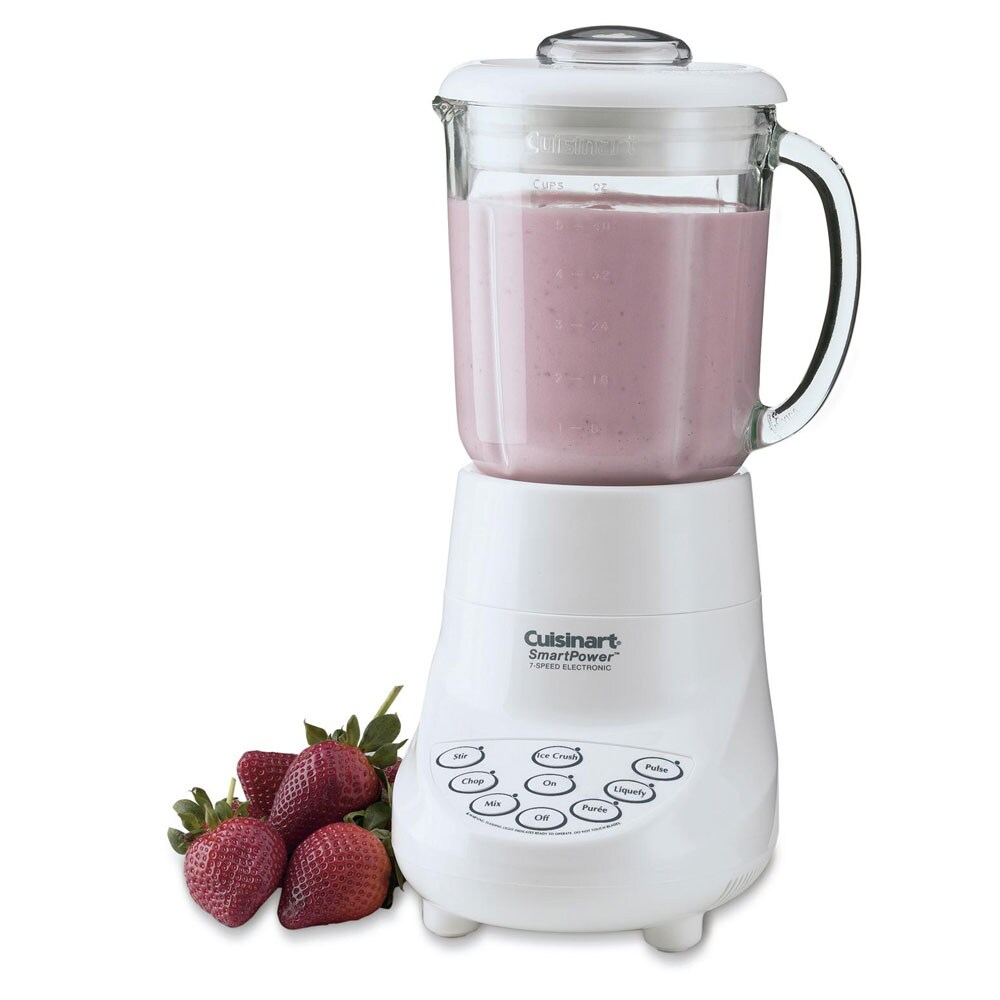 Cuisinart SPB-7 White SmartPower 40-oz 7-speed Electronic Bar Blender (Refurbished)