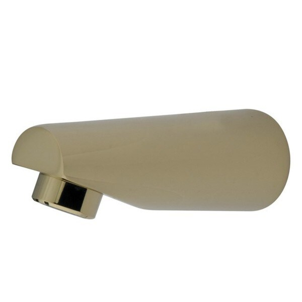 Polished Brass Deco Solid Brass Tub Spout