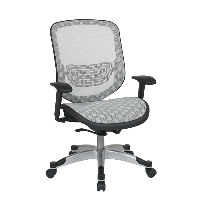 Office Star White DuraFlex with Flow-thru Technology Back and Seat Chair