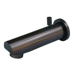 Oil Rubbed Bronze Deco Brass Tub Spout and Diverter