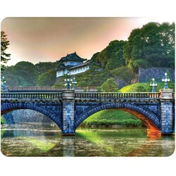 AD Publishing 'Japanese Fortress' Peel and Stick Mouse Pad