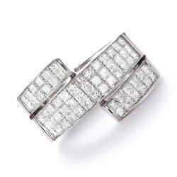 Montebello 14k White Gold 1 1/2ct TDW Diamond Wraparound Band (G-H, SI2)