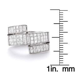 14k White Gold 1 1/2ct TDW Diamond Wraparound Band (G-H, SI2)