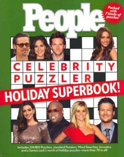 People Celebrity Puzzler Holiday Superbook! (Paperback)