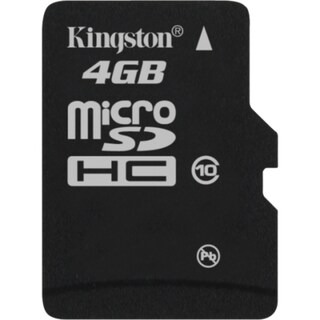 Kingston SDC10/4GB 4 GB microSD High Capacity (microSDHC)