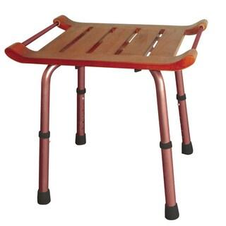 Adjustable Teak Rectangular Bath Bench