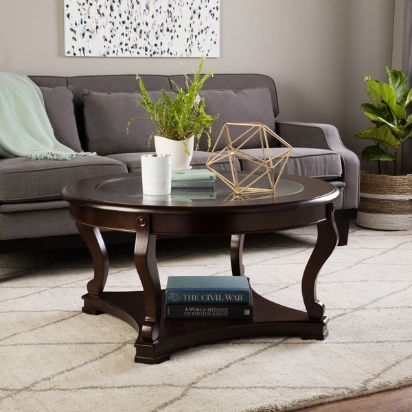 Greenwich Round Coffee Table Choice Of Size: Geurts Espresso Coffee Table