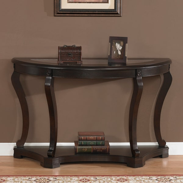 Geurts espresso sofa table Console coffee table