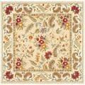 Safavieh Handmade Paradise Ivory Wool Rug (6' Square)