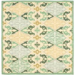 Safavieh Hand-hooked Chelsea Sonet Multicolor Wool Rug (6' Square)