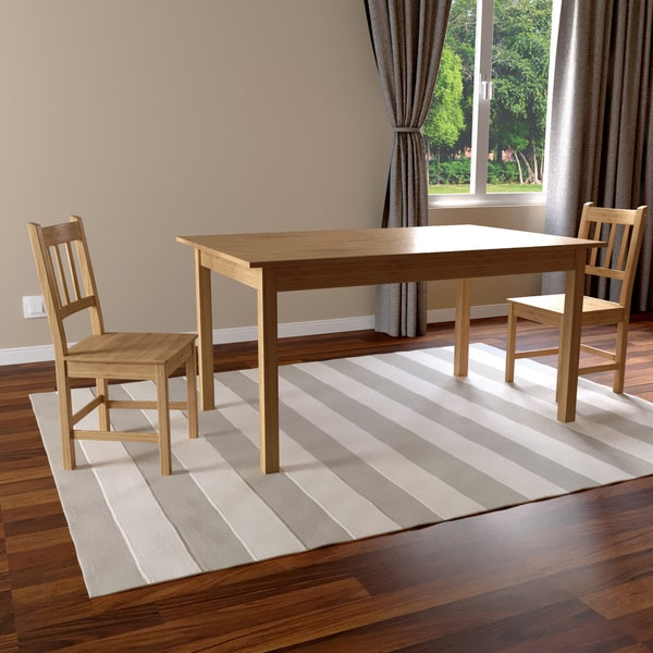 Simple Living Bamboo 5-piece Dining Set 7817256