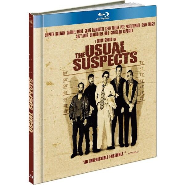 The Usual Suspects - Limited Edition DigiBook (Blu-ray Disc) 7817988