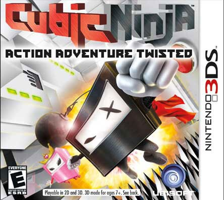 Nintendo 3DS - Cubic Ninja - By Ubisoft