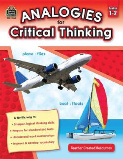 Analogies for Critical Thinking: Grades 12 (Paperback)