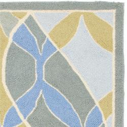 Safavieh Hand-hooked Chelsea Waves Multi Wool Rug (2'9 x 4'9)