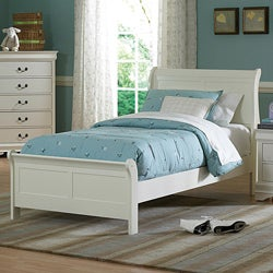Alfie White Twin Bed