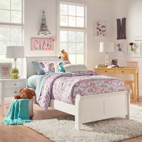 Iq kids alfie white twin bed 13497270 for White twin beds for sale