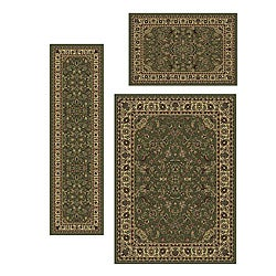 Caroline Sarouk Rugs (Set of 3)
