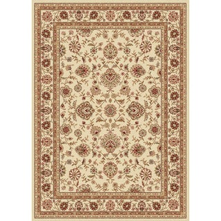Ivory Traditional Area Rug (7'6 x 9'10)