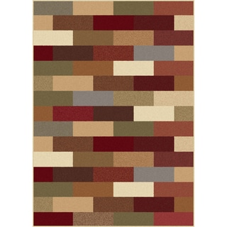 Multi Color Collection Area Rug (7'6 x 9'10)