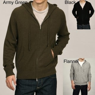 Oliver & James Men's Cashmere Hoodie