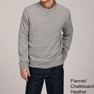 Oliver & James Men's Crew Neck Cashmere Sweater FINAL SALE