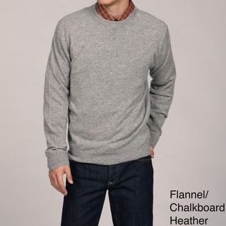 Oliver & James Men's Crew Neck Cashmere Sweater FINAL SALE