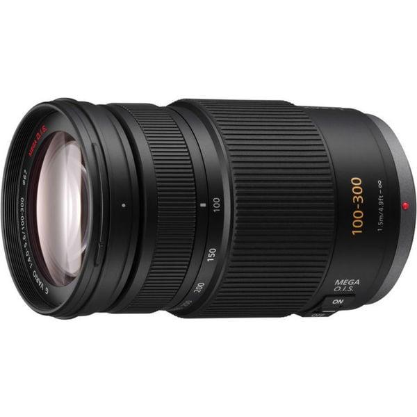 Panasonic H-FS100300 100 mm - 300 mm f/4 - 5.6 Telephoto Zoom Lens fo