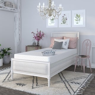 Select Luxury Reversible Comfort 4-inch Twin-size Foam Mattress