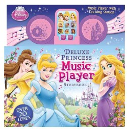 Disney Princess Music Player Storybook With Docking Station (Hardcover)