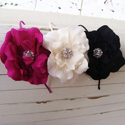 CarolineAlexander 5-inch Flower Headband