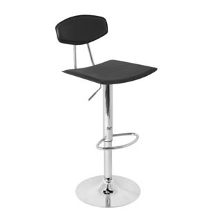 LumiSource Modern Hydraulic Barstool