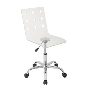 LumiSource Modern Clear Acrylic Office Chair
