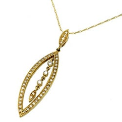 Beverly Hills Charm 14k Yellow Gold 1/2ct TDW Diamond Necklace (H-I, I2)
