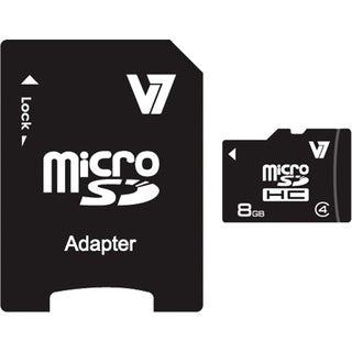 V7 VAMSDH8GCL4R-1N 8 GB microSD High Capacity (microSDHC)