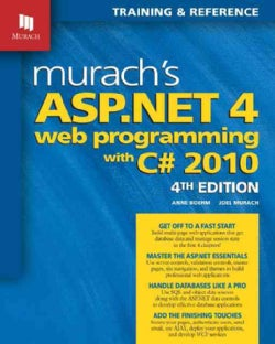 Murach's ASP.NET 4 Web Programming With C# 2010 (Paperback)