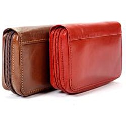 Tony Perotti Zip-around Accordion Credit Card Holder