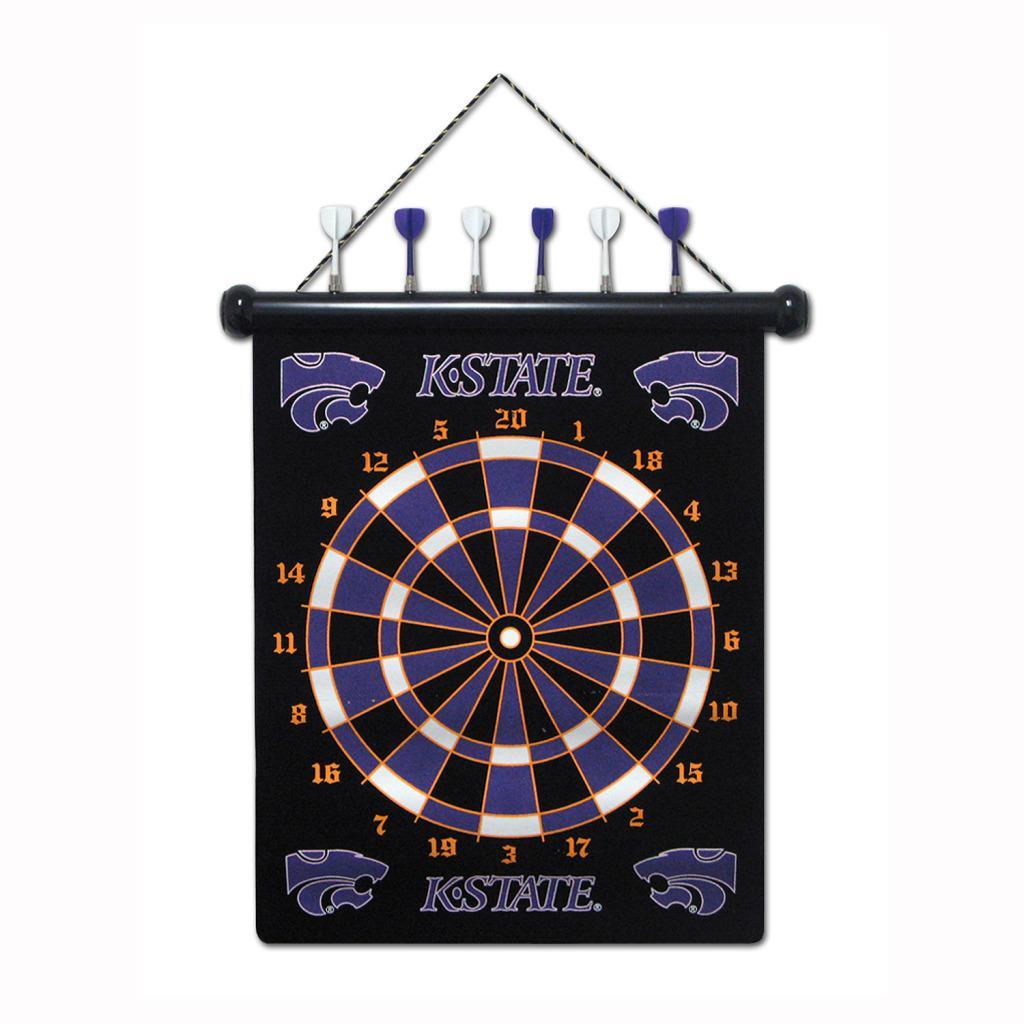 Kansas State Wildcats Magnetic Dart Board