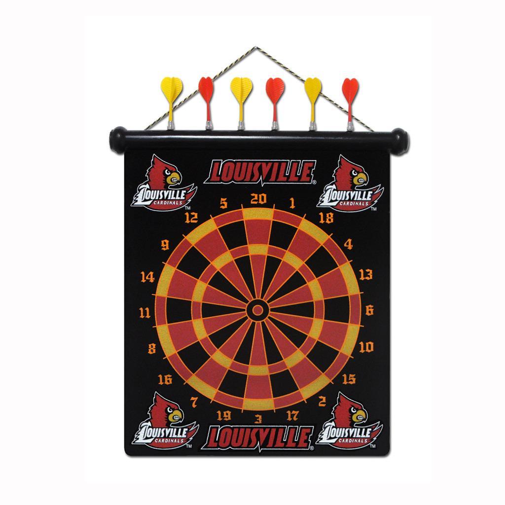 Louisville Cardinals Magnetic Dart Board