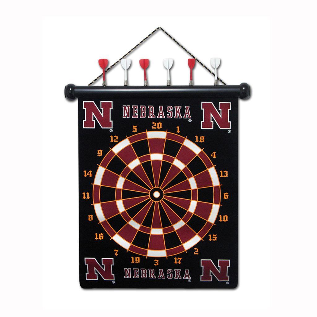 Nebraska Cornhuskers Magnetic Dart Board