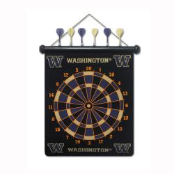 Washington Huskies Magnetic Dart Board