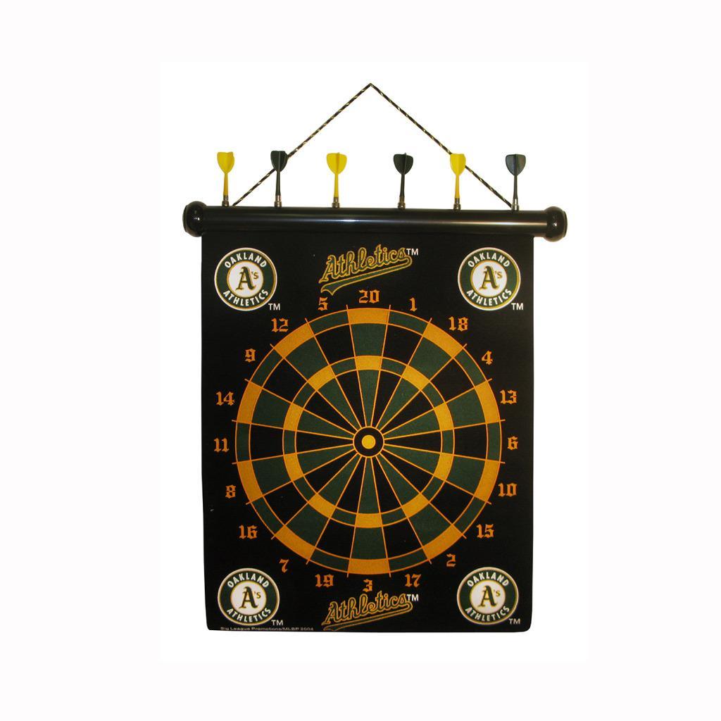 Oakland Athletics Magnetic Dart Board