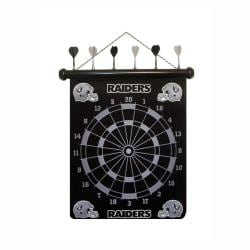Oakland Raiders Magnetic Dart Board
