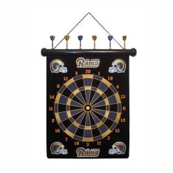 St. Louis Rams Magnetic Dart Board