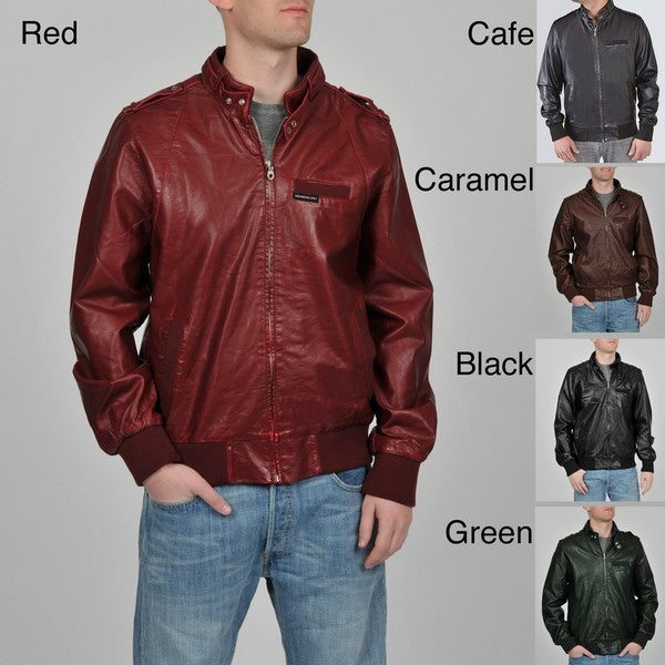Member's Only Men's Zip Front Jacket