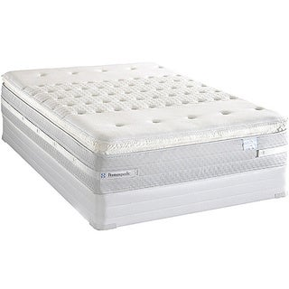Sealy Posturepedic Forestwood Plush Euro Pillowtop Full-size Mattress Set