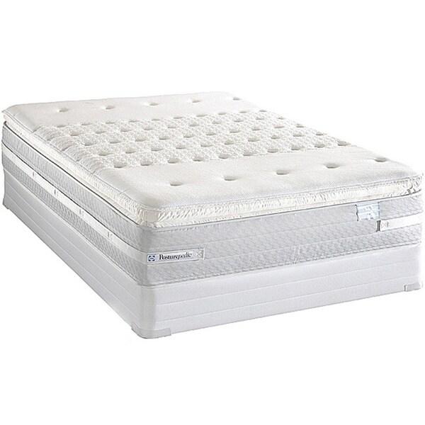 Sealy Posturepedic Forestwood Plush Euro Pillowtop Full-size Mattress Set