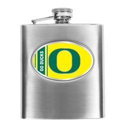 Simran Oregon Ducks 8-oz Stainless Steel Hip Flask