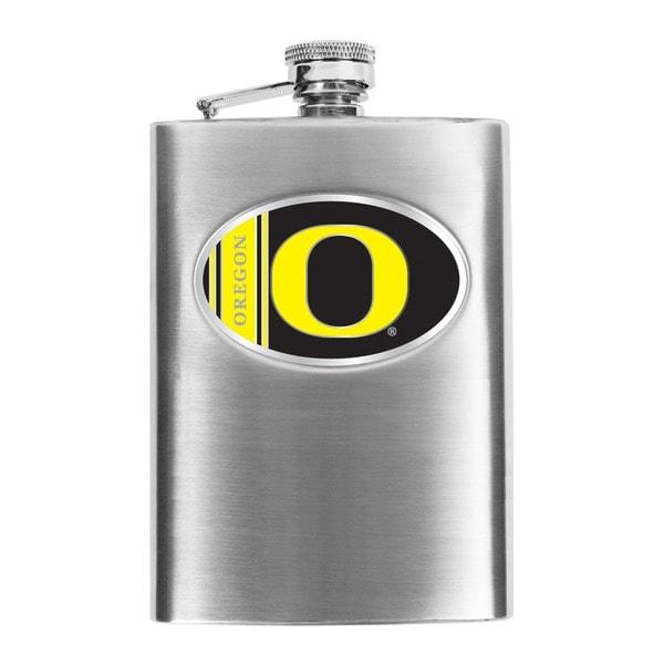 Simran Oregon Ducks 8-oz Stainless Steel Hip Flask